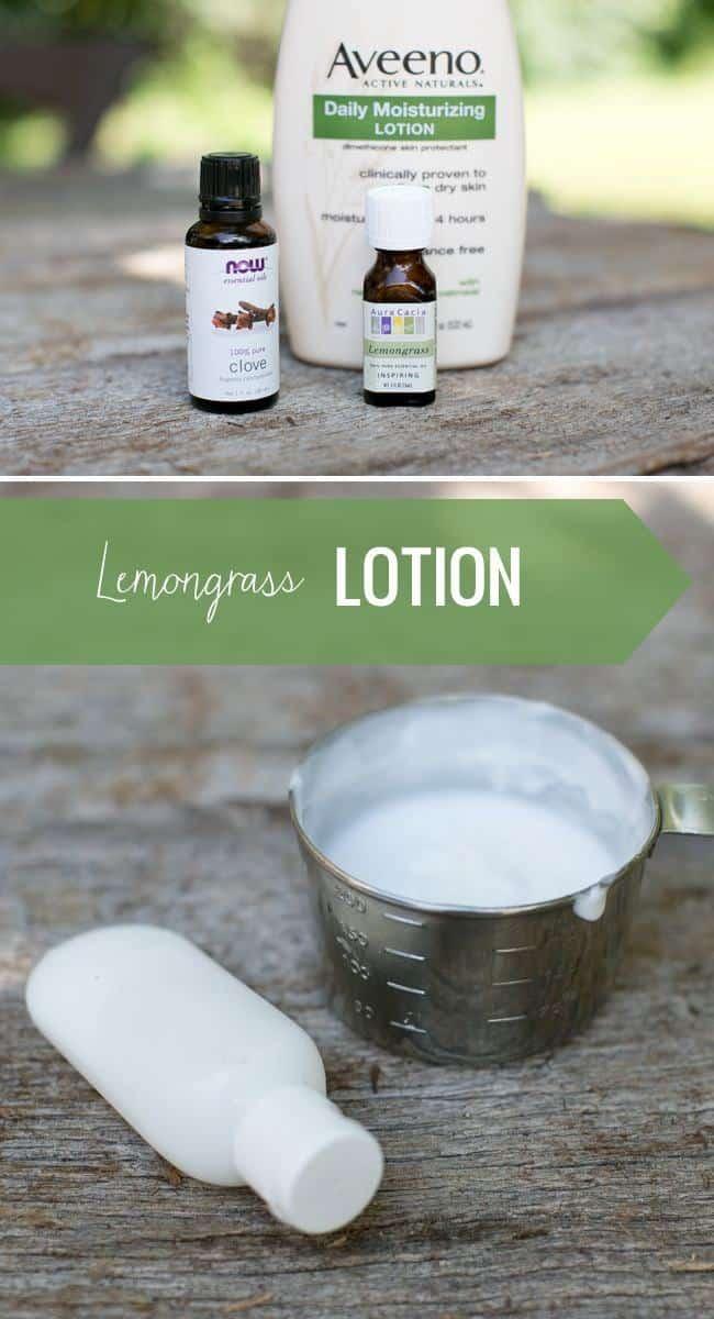 Lemongrass Mosquito lotion