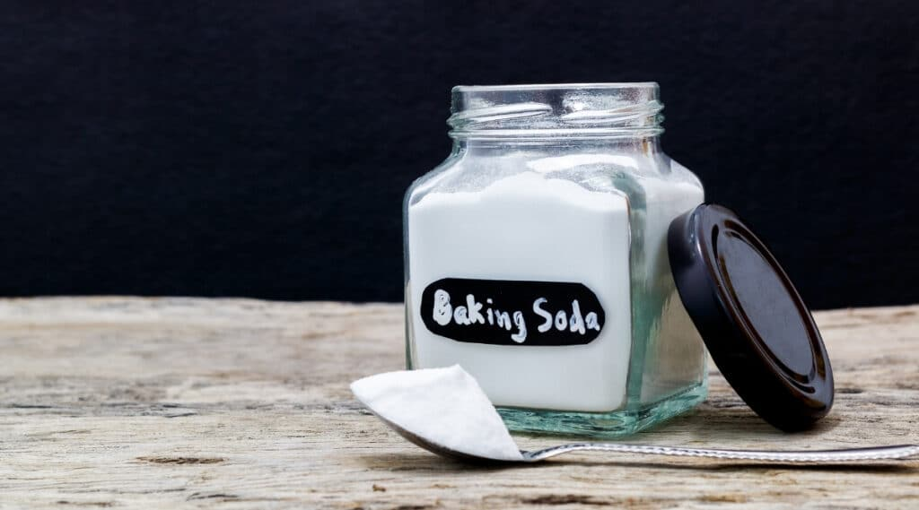 Baking Soda on a Table