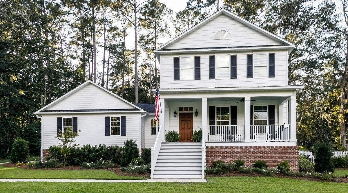 Southern Farmhouse Style Home
