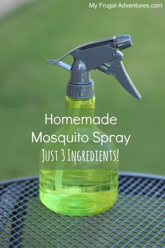 Home made mosquito spray with just 3 ingredients