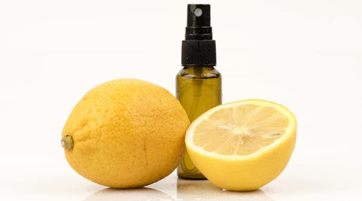Lemon Spray in Bottle