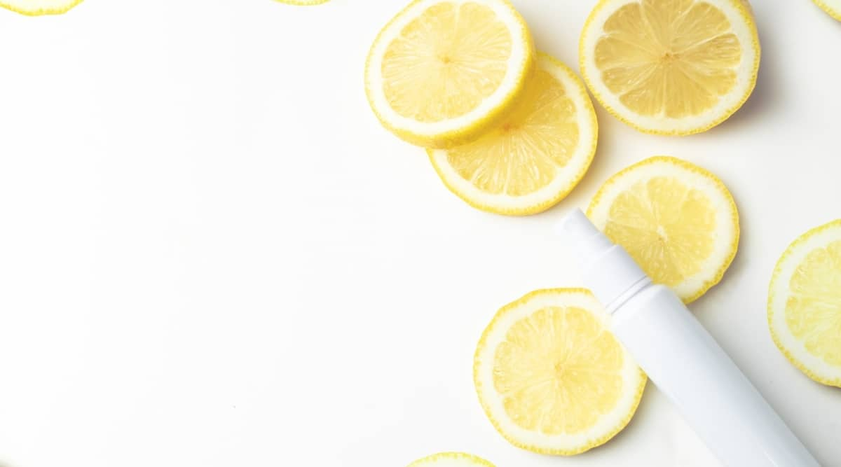 Lemon Water Bottle Spray