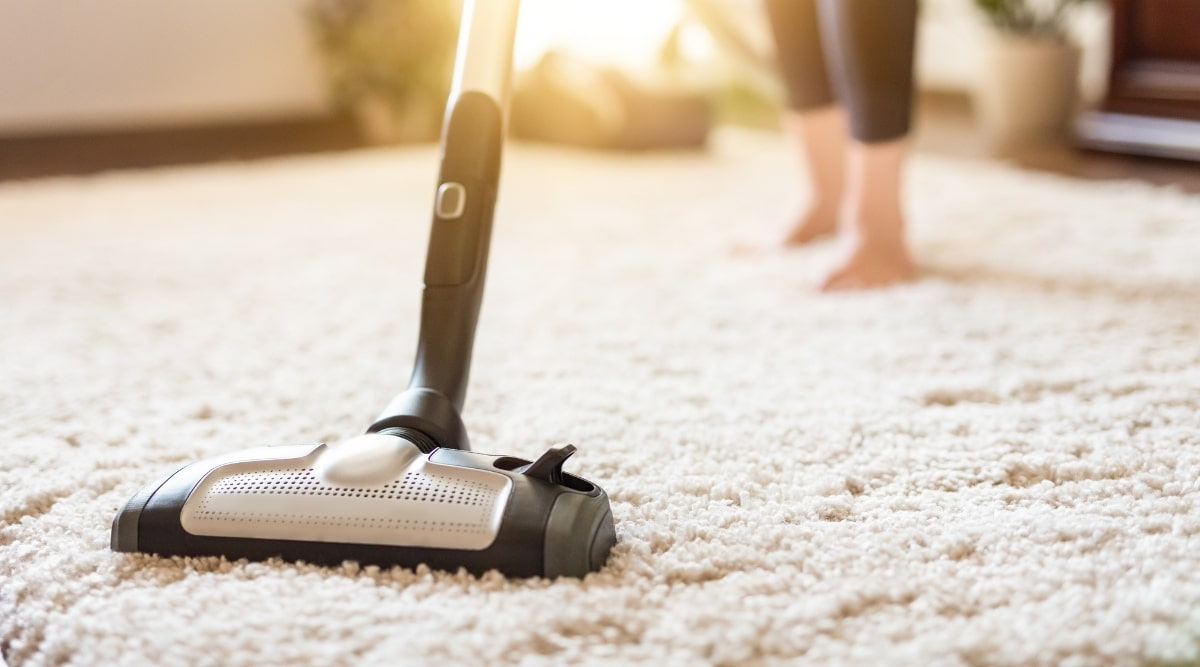 Vacuuming Carpet for Bed Bugs
