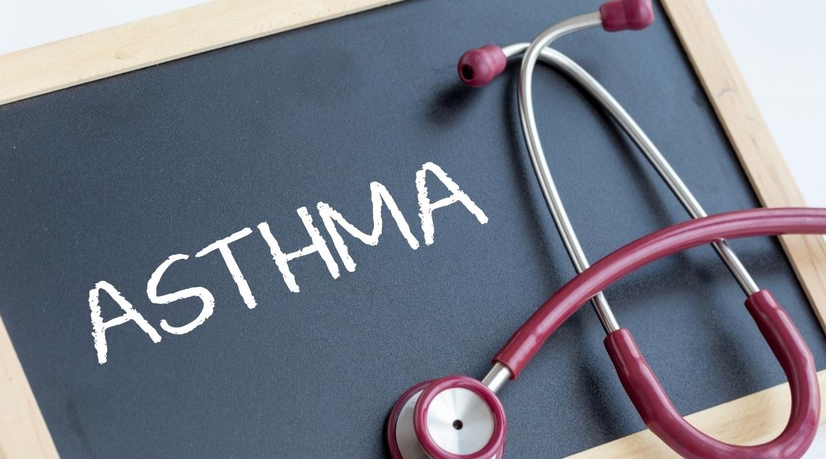 Asthma on Chalkboard